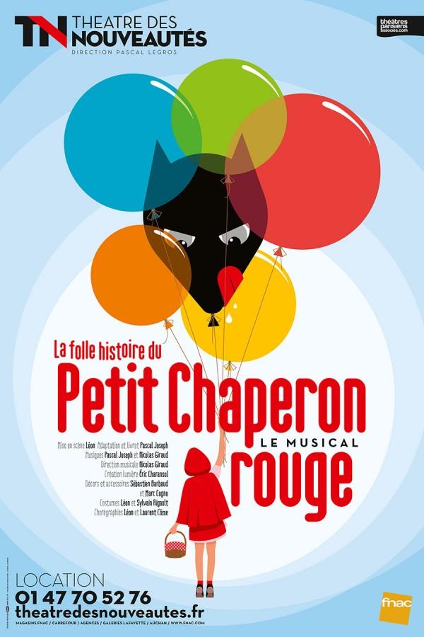 La Folle histoire du petit chaperon rouge au Théâtre des Nouveautés