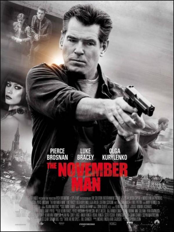The November Man : Affiche