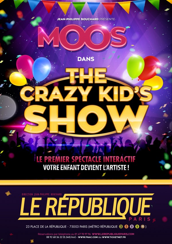 The Crazy Kid's Show : Affiche