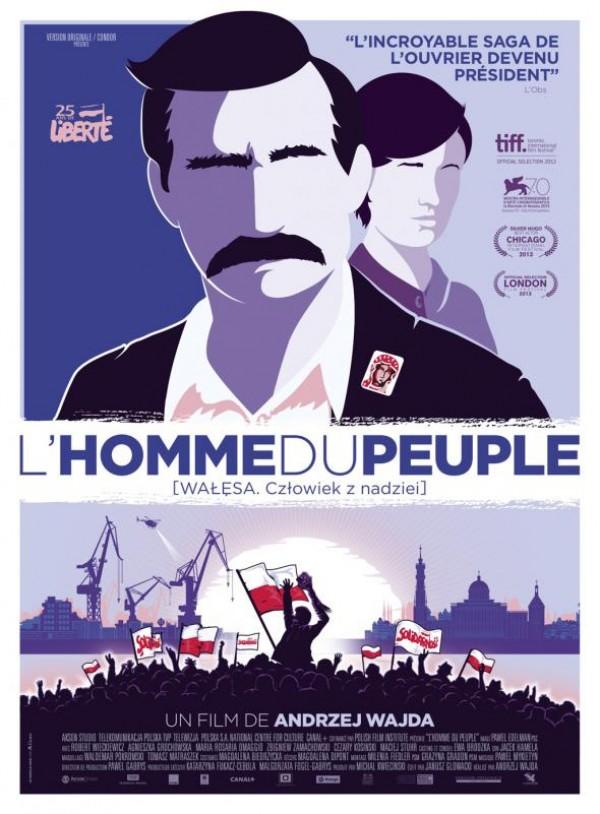 L'Homme du peuple : Affiche