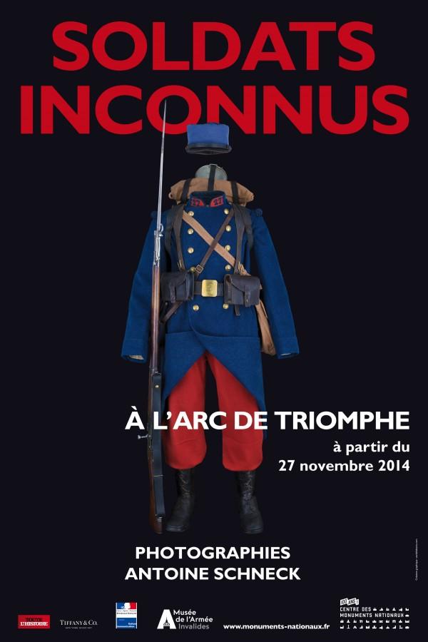 Antoine Schneck, Soldats inconnus : Affiche