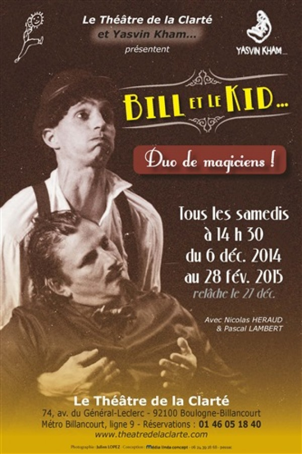 Bill et le Kid : Affiche