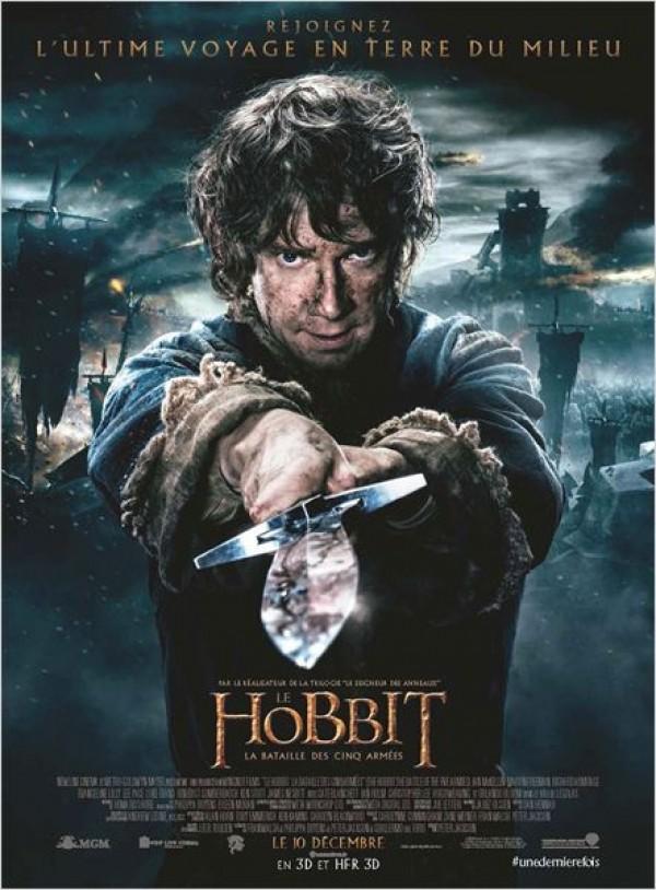 Le Hobbit : La Bataille des cinq armées Affiche