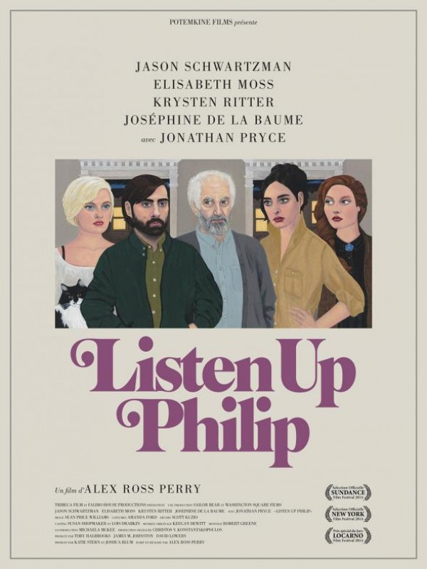Listen Up Philip : Affiche