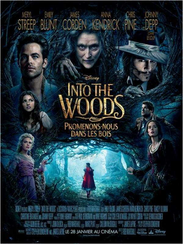 Into the Woods, Promenons-nous dans les bois : Affiche