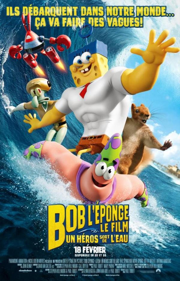 Bob l'éponge - Le film : Un héros sort de l'eau Affiche