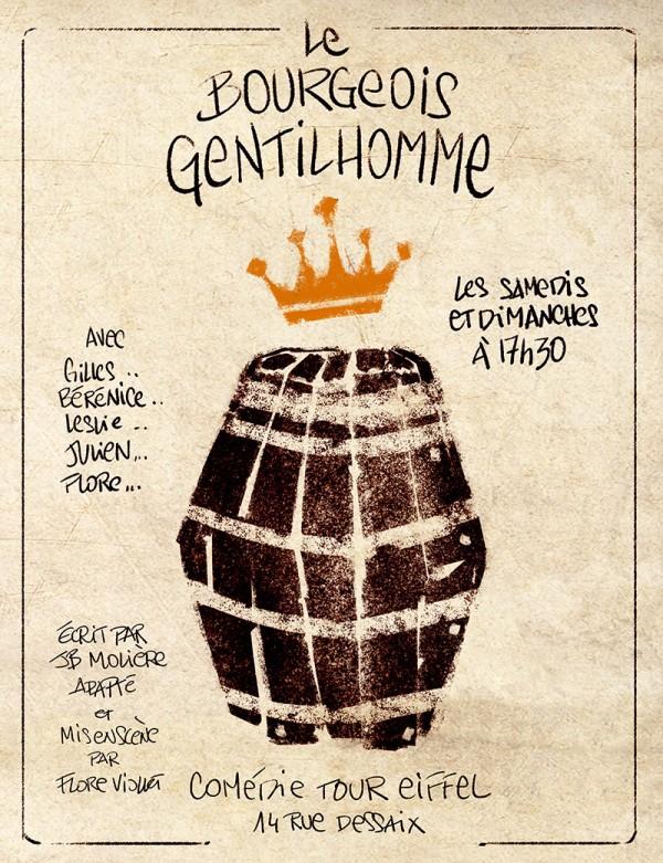 Le Bourgeois gentilhomme : Affiche