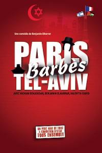 Paris-Barbès-Tel Aviv - Affiche