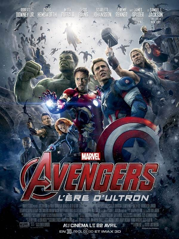 Avengers : l''ère d''Ultron, Affiche