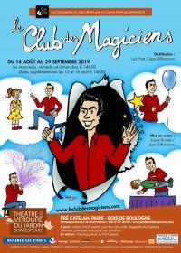 Le Club des magiciens au Théâtre de verdure du Jardin Shakespeare