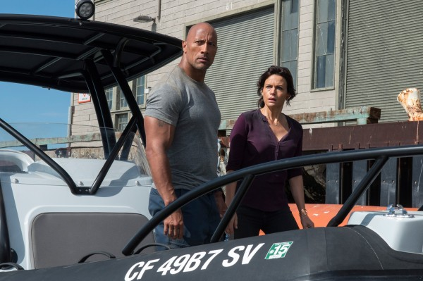 Dwayne Johnson, Carla Gugino