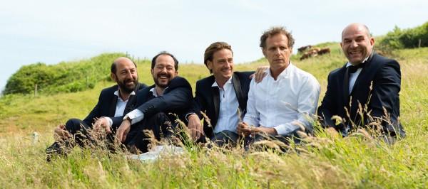 Kad Merad, Jean-François Cayrey, Benoît Magimel, Charles Berling, Vincent Moscato