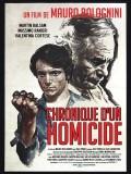 Chronique d'un homicide, affiche version restaurée