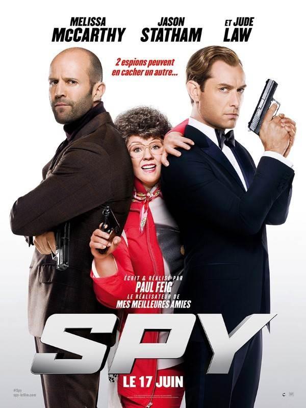 Spy, Affiche