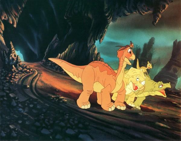Le petit dinosaure, extrait