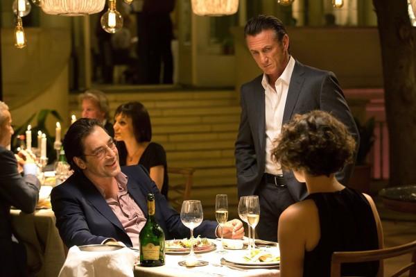 Javier Bardem, Sean Penn, Jasmine Trinca