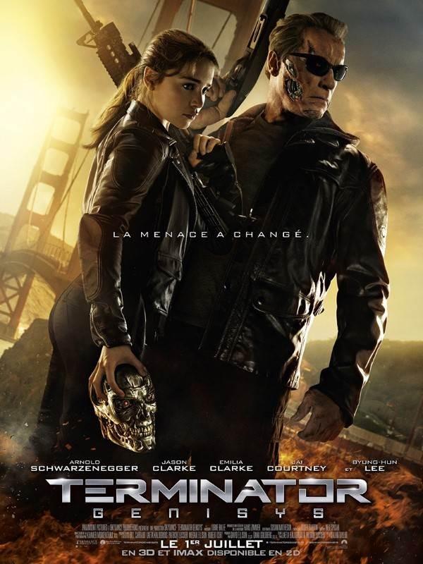 Terminator : Genisys, Affiche