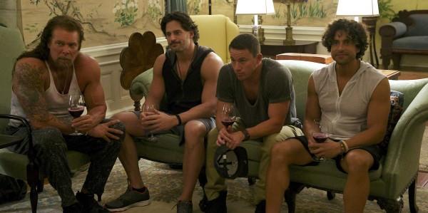 Kevin Nash, Joe  Manganiello, Channing Tatum, Adam Rodriguez