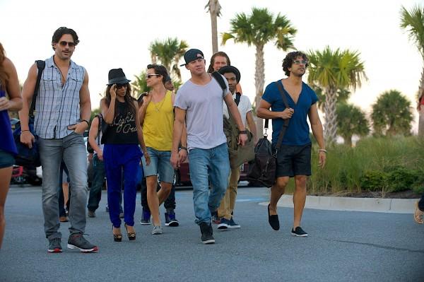 Joe  Manganiello, Jada Pinkett Smith (Rome), Matthew Bomer, Stephen Boss (Malik), Channing Tatum, Kevin Nash, Donald Glover, Adam Rodriguez