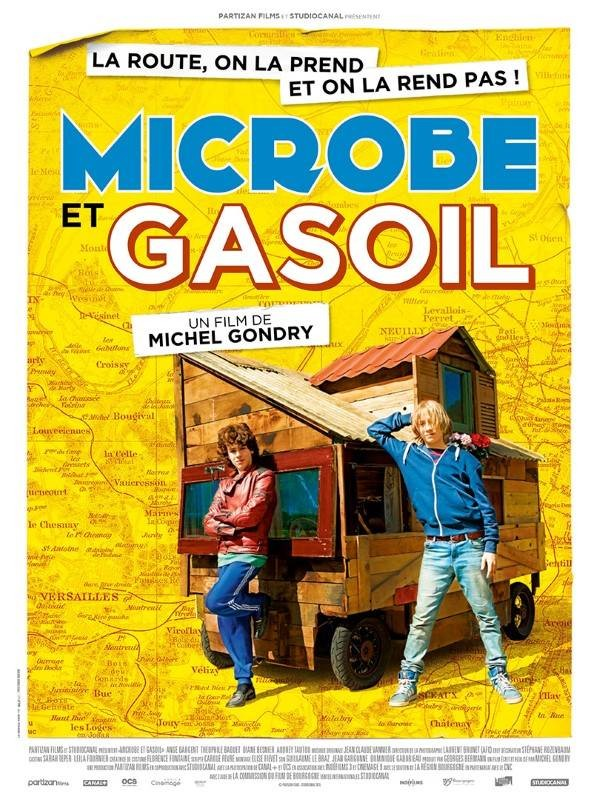 Microbe et Gasoil, Affiche