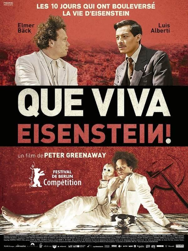 Que viva Eisenstein !, Affiche