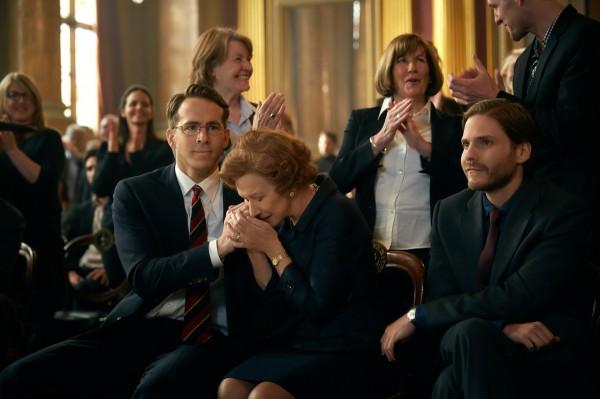 Ryan Reynolds, Helen Mirren, Daniel Brühl