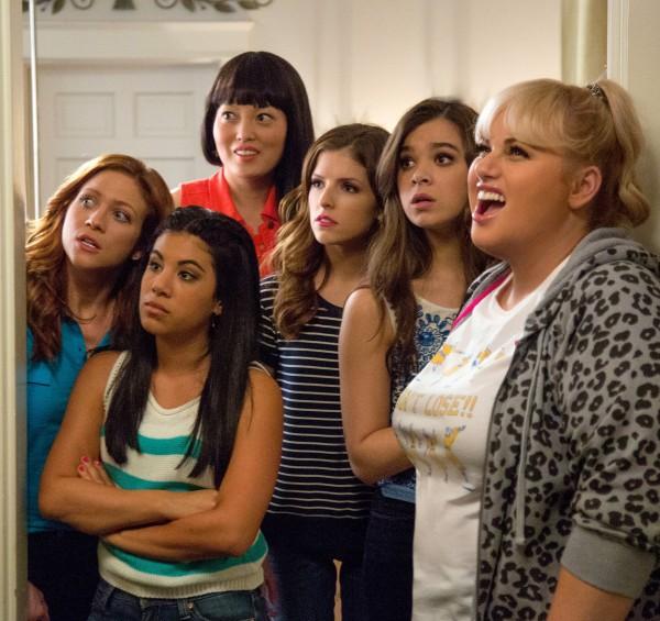 Brittany Snow, Chrissie Fit (Flo), Hana Mae Lee (Lilly Okanakamura), , Anna Kendrick, Hailee Steinfeld, Rebel Wilson