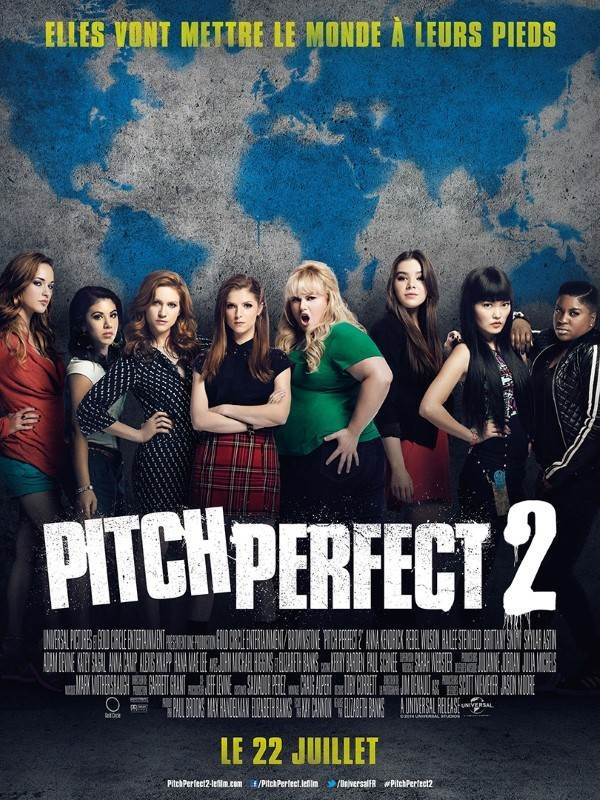 Pitch Perfect 2, Affiche