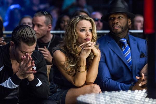 Jake Gyllenhaal, Rachel McAdams, 50 Cent