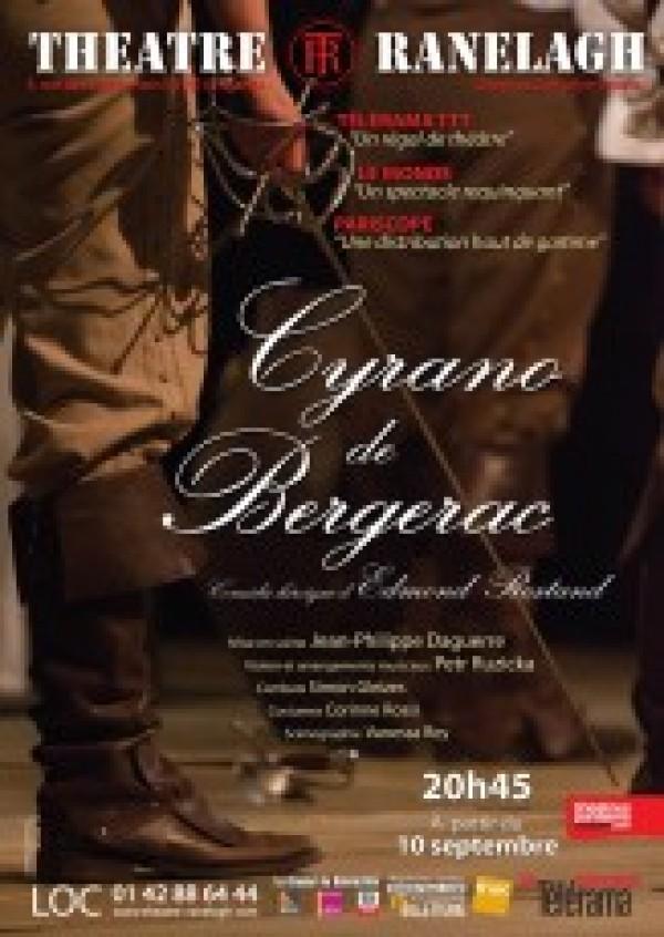 Cyrano de Bergerac au Théâtre du Ranelagh : Affiche
