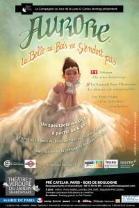 Aurore - La Belle au bois ne s'endort pas au Théâtre de Verdure du Jardin Shakespeare