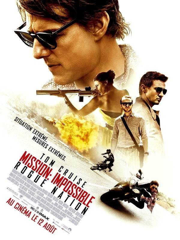 Mission : Impossible, Rogue Nation, Affiche