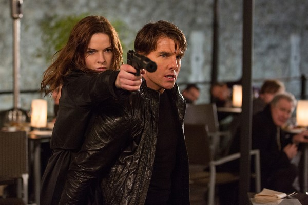 Rebecca Ferguson, Tom Cruise