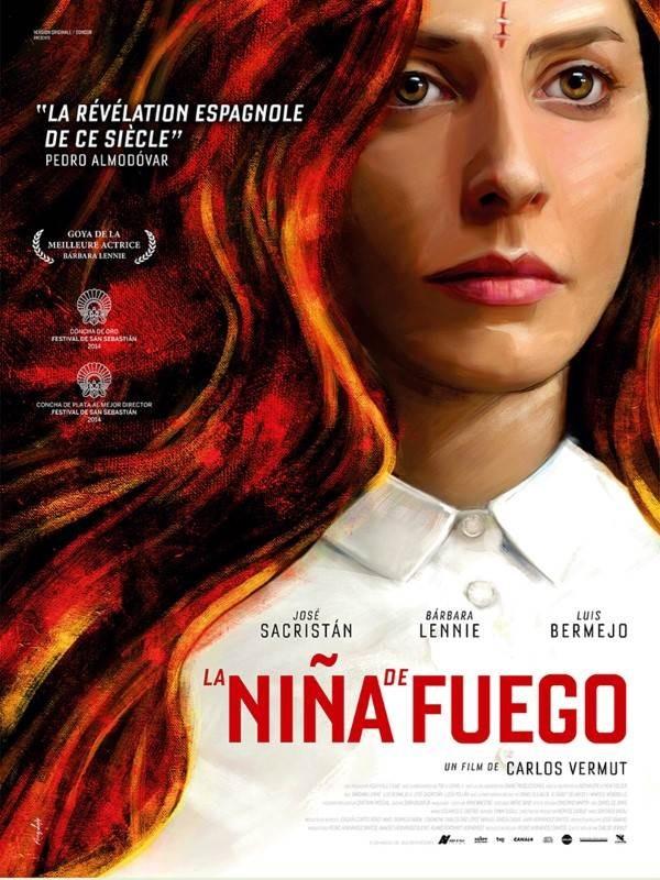 La Nina de Fuego, Affiche