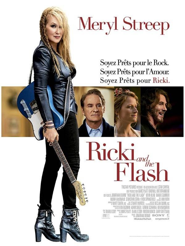 Ricki and the Flash, Affiche