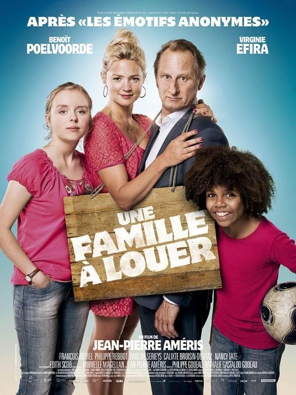 Une famille à louer, Affiche
