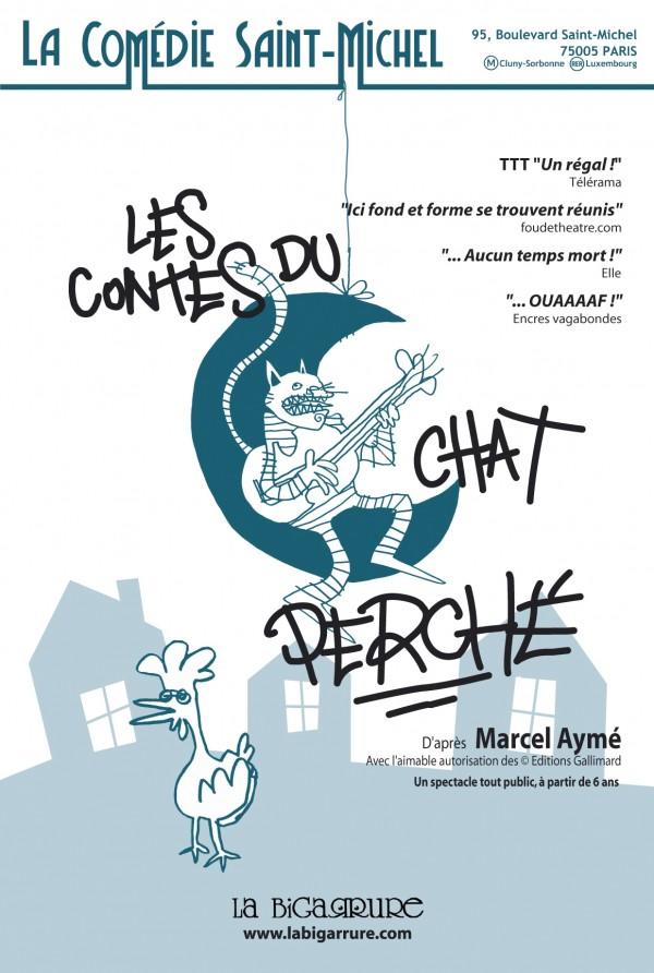 Les Contes du chat perché à la Comédie Saint-Michel