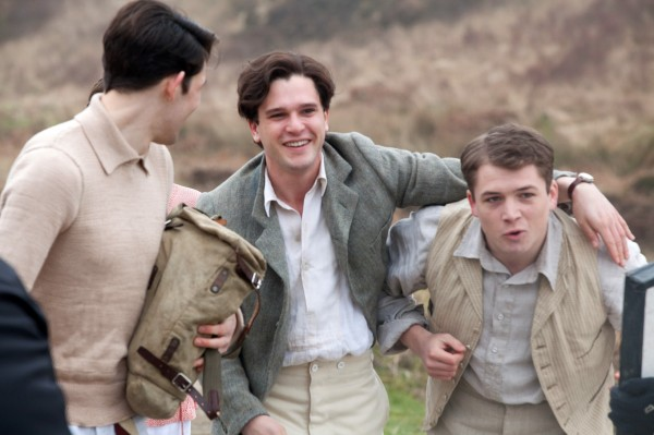 Colin Morgan, Kit Harington, Taron Egerton