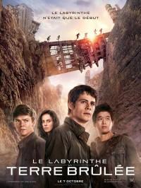 Le labyrinthe : la terre brûlée, Affiche