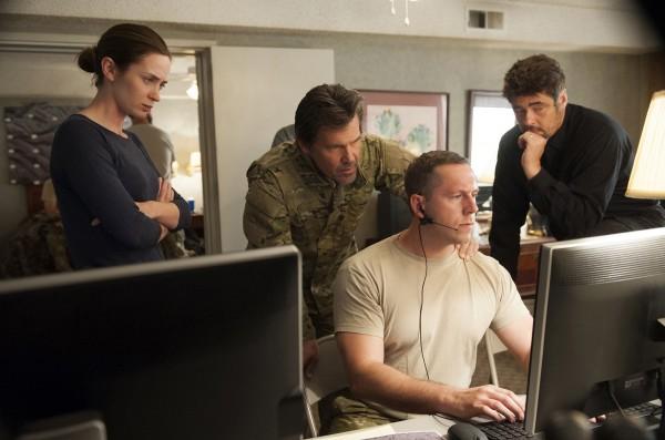 Emily Blunt, Josh Brolin, personnage, Benicio Del Toro