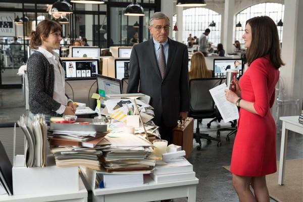 Christina Scherer , Robert De Niro, Anne Hathaway