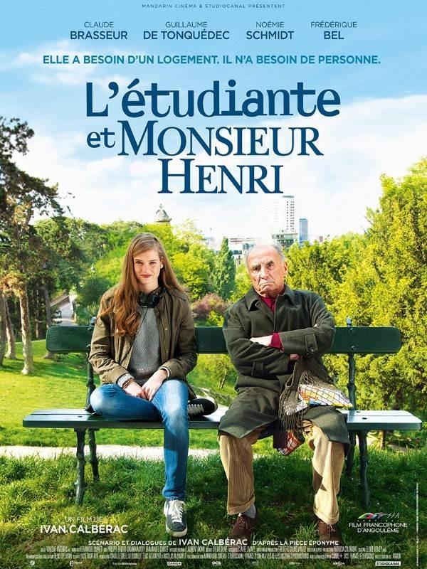 L'étudiante et monsieur Henri, Affiche