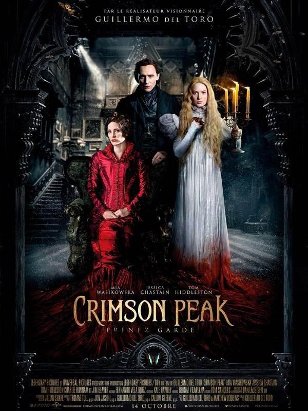 Crimson Peak, Affiche