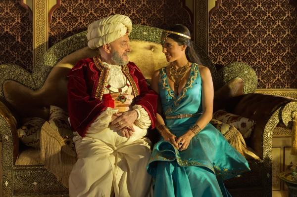 Michel Blanc, Vanessa Guide (la princesse Shalia)