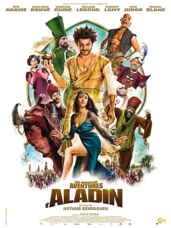 Les nouvelles aventures d'Aladin, Affiche