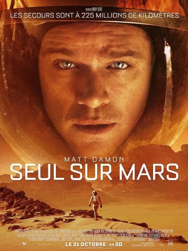 Seul sur Mars, Affiche