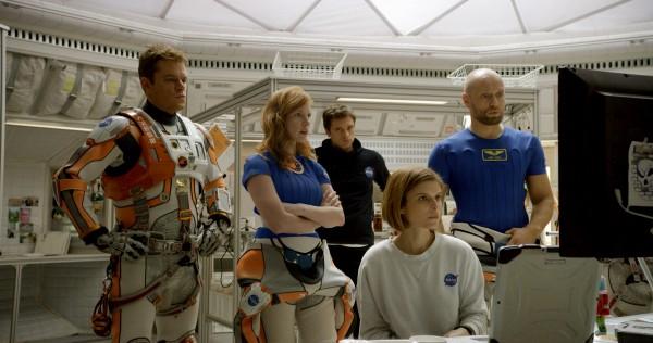 Matt Damon, Jessica Chastain, Sebastian Stan, Kate Mara, Aksel Hennie (Alex Vogel)