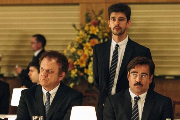 John C Reilly, Ben Whishaw, Colin Farrell