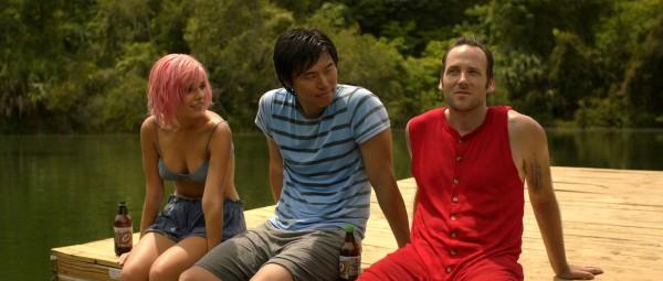 Caitlin Stasey (Cherry Swade), Charles Chu, Ryan O'Nan