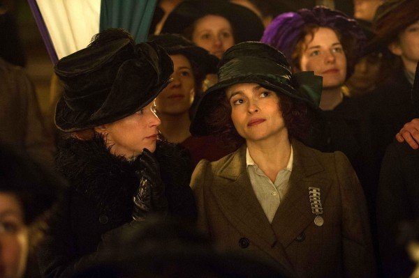 Natalie Press (Emily Wilding Davison), Helena Bonham Carter